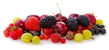 dojrzały owoc biel Zdjęcia Stock