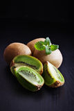 dojrzały owocowy kiwi Obraz Royalty Free