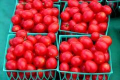 Dojrzali czereśniowi pomidory Zdjęcia Royalty Free