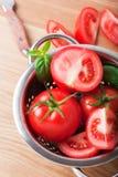 Dojrzali czerwoni pomidory Obrazy Royalty Free