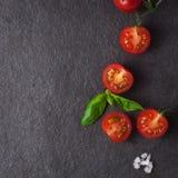 Dojrzali czerwoni pomidory Zdjęcia Royalty Free