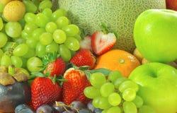 Dojrzali owoc i warzywo dla zdrowego Obraz Royalty Free
