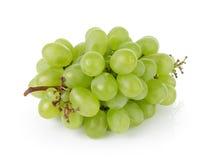 Dojrzali zieleni winogrona fotografia royalty free