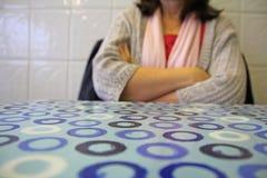 Dokąd jest mój gość restauracji! fotografia stock