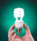 dokładność światła fluorescencyjnego żarówek Fotografia Royalty Free