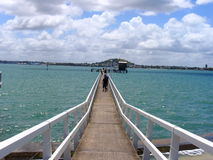 Dok in Auckland royalty-vrije stock afbeeldingen