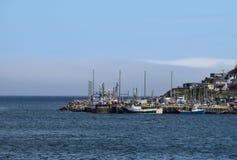 Dok dichtbij Fort Amherst, St John ` s NL Canada royalty-vrije stock foto's