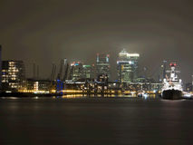 dok London Fotografia Stock