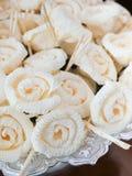 Dok Mai Chan Thaise die kunstbloemen tijdens een begrafenis worden gebruikt Royalty-vrije Stock Foto
