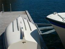 dok łodzi Fotografia Stock