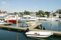 doki łodzi zdjęcie royalty free