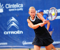 Dokic in Bucharest at ITF event Royalty Free Stock Image