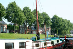 Dokkum watersports in the City Stock Image