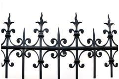 Dokonanego żelaza ogrodzenie zdjęcia royalty free