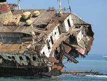 Dokonuje łódź morza czerwonego Egipt Zdjęcie Royalty Free