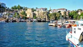 Dokować łodzie w Marina, Antalya zbiory
