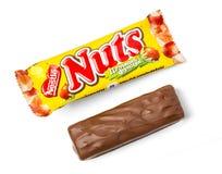 Dokrętka cukierku czekolady półdupki Obraz Stock