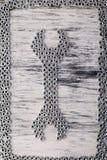 Dokrętki wyrwanie od metal dokrętek tła Mieszkanie nieatutowy zdjęcie royalty free