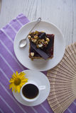 Dokrętka tort Fotografia Stock