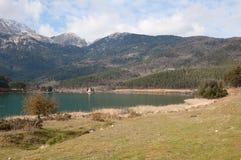 Doksa Lake, Greece Royalty Free Stock Image