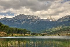 Doksa Lake Korinthia Hellas Stock Images