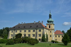Doksy castle Stock Photography