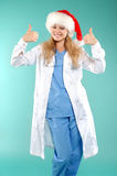 doktor Χριστουγέννων Στοκ Φωτογραφίες