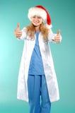 doktor Χριστουγέννων Στοκ Φωτογραφία