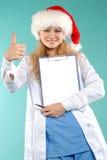 doktor Χριστουγέννων Στοκ Εικόνες