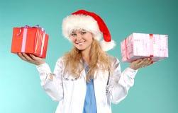 doktor рождества Стоковая Фотография RF