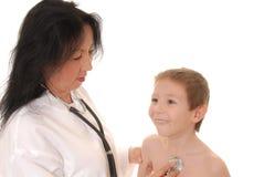 doktor 10 pacjent Zdjęcia Royalty Free