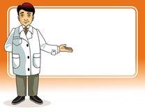 doktor royaltyfri illustrationer