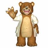 Doktor Bear Stockbilder
