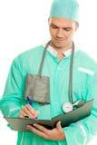 Doktor bei der Arbeit Stockbilder