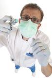 Doktor bei der Arbeit Stockbild