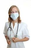Doktor der jungen Frau Stockbilder