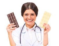 Doktor der jungen Frau Lizenzfreie Stockfotos