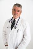 Doktor, der Patienten bezweifelt Lizenzfreies Stockbild