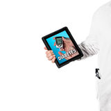 Doktor with a digital tablet Royalty Free Stock Photos