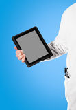 Doktor with a digital tablet Royalty Free Stock Photo