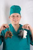 Doktor Dolittle stockfoto
