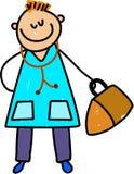 doktor dzieciaku royalty ilustracja