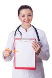 Doktor för ung kvinna Royaltyfria Foton