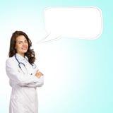 Doktor för ung kvinna Royaltyfri Foto