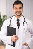 Doktor Indian Stockbild