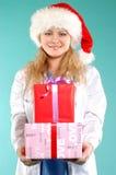 Doktor - Kerstmis royalty-vrije stock foto