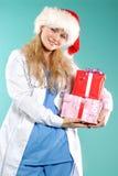 Doktor - Kerstmis royalty-vrije stock fotografie