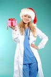 Doktor - Kerstmis stock afbeeldingen