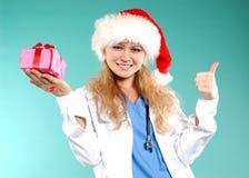 Doktor - Kerstmis stock foto