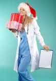Doktor - Kerstmis stock afbeelding